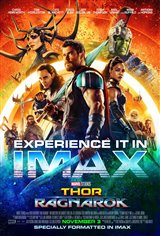 Marvel Studios 10th: Thor: Ragnarok (IMAX) Movie Poster