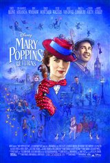 Mary Poppins Returns Affiche de film