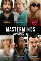 Masterminds Movie Poster Movie Poster