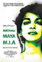 Matangi/Maya/M.I.A. Movie Poster