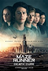 8. Maze Runner: The Death Cure Movie Poster