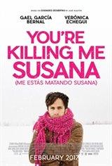 Me estás matando Susana Movie Poster