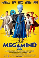 Megamind 3D (v.f.) Movie Poster