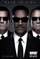 Men in Black 3 3D Movie Poster