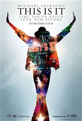 Michael Jackson : This Is It Movie Poster