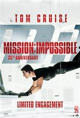 Mission Impossible 25th Anniversary Large Poster
