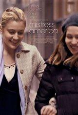 Mistress America (v.o.a.) Affiche de film