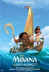 Moana Sing Along Movie Poster