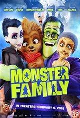 Monster Family 3D Large Poster