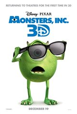 Monsters, Inc. 3D Movie Poster