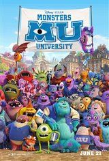 Monsters University 3D Movie Poster