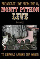 Monty Python Live (mostly) Movie Poster