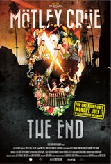 Mötley Crüe: The End Movie Poster