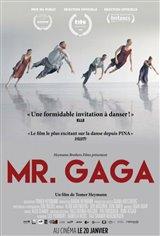 Mr. Gaga (v.o.s.-t.f.) Affiche de film