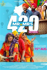 Mr & Mrs 420 Returns Movie Poster