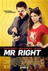 Mr. Right (v.o.a.) Affiche de film