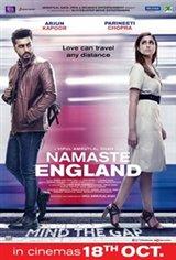 Namaste England Large Poster