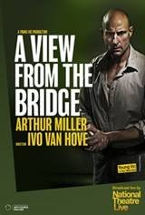 National Theatre Live: A View from the Bridge Movie Poster