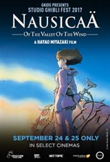 Nausicaä of the Valley of the Wind - Studio Ghibli Fest 2017 Large Poster