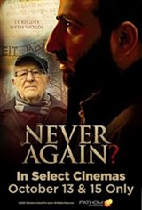 Never Again? Large Poster