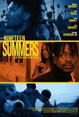 Nineteen Summers Affiche de film