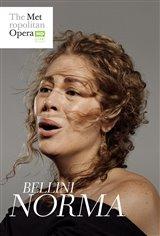Norma - Metropolitan Opera Affiche de film