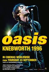 Oasis Knebworth 1996 Movie Poster
