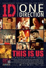 One Direction: This is Us 3D Movie Poster