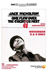 One Flew Over the Cuckoo's Nest (1975) 45th Anniversary presented by TCM Movie Poster