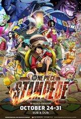 One Piece: Stampede Affiche de film