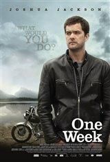 One Week Movie Poster
