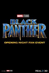 Opening Night Fan Event - Black Panther Large Poster
