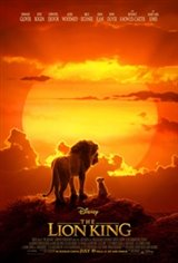 Opening Night Fan Event The Lion King Movie Poster