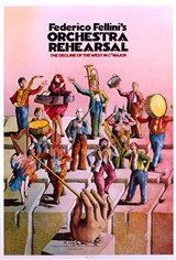 Orchestra Rehearsal Movie Poster