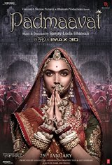 Padmaavat (Hindi) Affiche de film