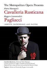 Pagliacci et Cavalleria - Metropolitan Opera Affiche de film