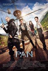 Pan 3D Movie Poster