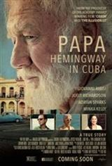 Papa: Hemingway in Cuba Movie Poster