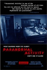 Paranormal Activity Movie Poster Movie Poster