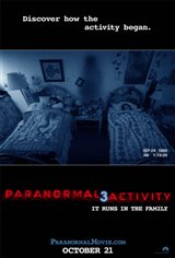 Paranormal Activity 3 Movie Poster