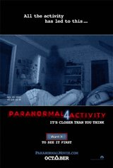 Paranormal Activity 4  Movie Poster Movie Poster