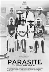 Parasite in Black & White Large Poster