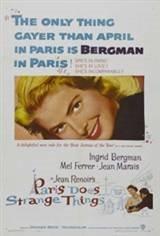 Paris Does Strange Things (Elena et les hommes) Movie Poster