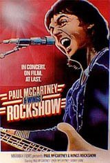 Paul McCartney & Wings: Rockshow Movie Poster