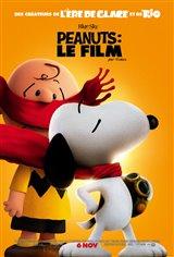 Peanuts : Le film Affiche de film