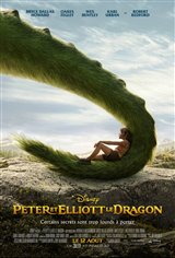 Peter et Elliott le dragon Affiche de film