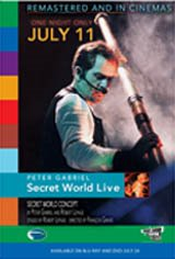 Peter Gabriel: Secret World Live Movie Poster