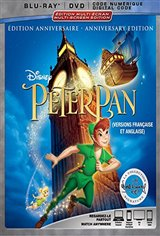 Peter Pan Anniversary Edition Movie Poster Movie Poster