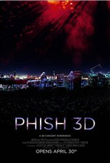 Phish 3D Movie Poster