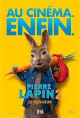 Pierre lapin 2 : Le fugueur Affiche de film